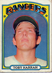 1972 Topps Baseball Cards      104     Toby Harrah RC